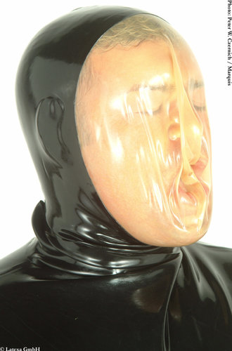 Latex Vakuummaske mit RV Latexa