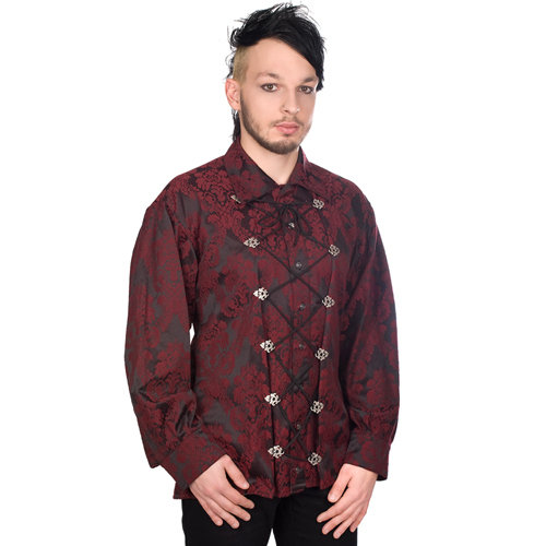 Aderlass Cremate Shirt Brocade